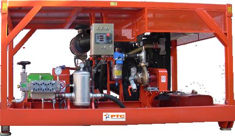 Diesel-käyttöiset korkeapaineyksiköt