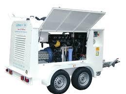 Hughes ultrakorkeapaine 3000 bar traileri
